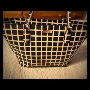 Kate Spade black & cream purse